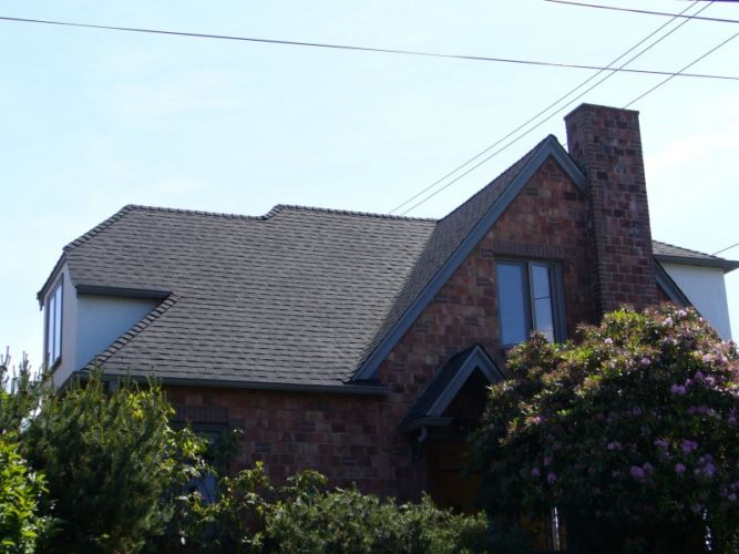 Seattle Roofing Replacement Brick Home
