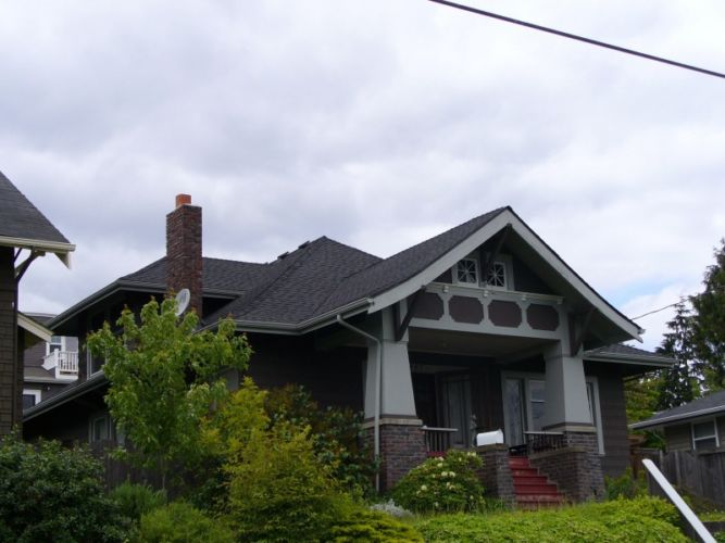 Seattle Roofing Replacement Craftsman Home