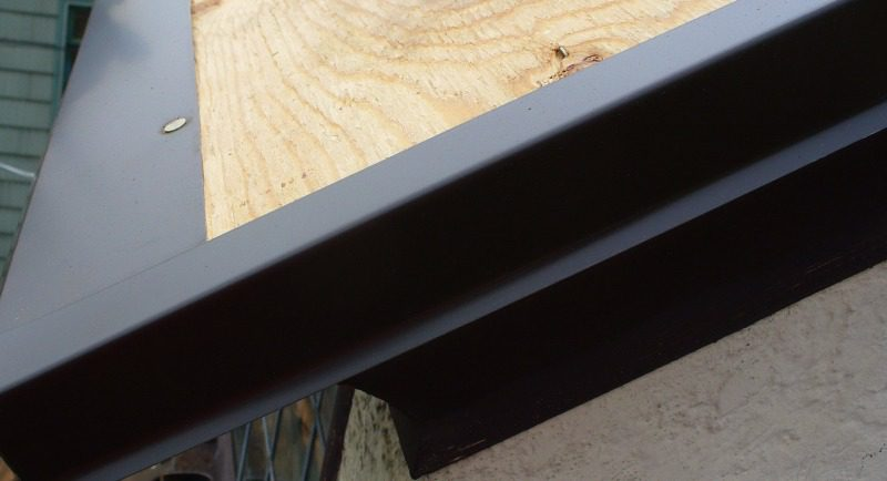 Roof Drip Edge Metal
