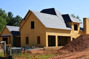 Roof Installation On New Construction Home